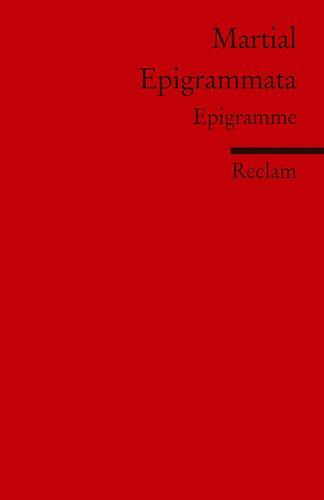 9783150198025: Epigrammata