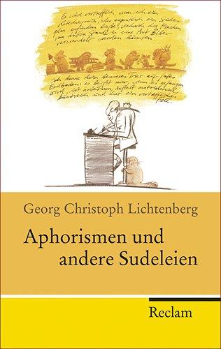 9783150202135: Aphorismen und andere Sudeleien