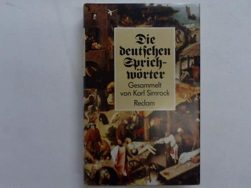 9783150284537: Die deutschen Sprichwörter