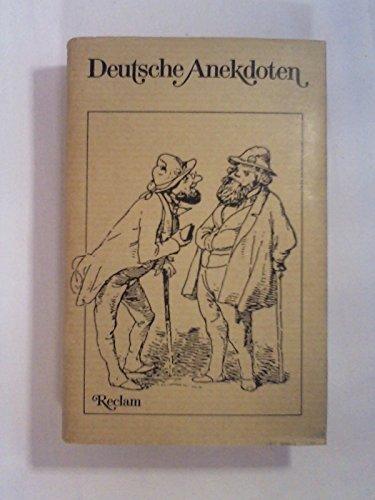9783150298251: Deutsche Anekdoten (German Edition)