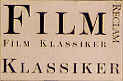 9783150300169: Filmklassiker. Beschreibungen und Kommentare