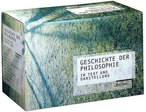 9783150300299: Geschichte der Philosophie I/IX in Text und Darstellung: Bd. 1: Antike. Bd. 2: Mittelalter. Bd. 3: Renaissance und frühe Neuzeit. Bd. 4: Empirismus. ... Gegenwart. 2500 Jahre Philosophiegeschichte
