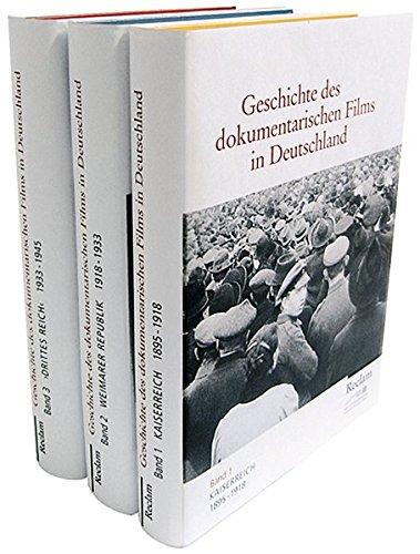 Geschichte des dokumentarischen Films in Deutschland, 3 Bde.: Peter Zimmermann