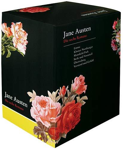 Die sechs Romane: Emma/Kloster Northanger/Mansfield Park/Stolz und: Jane Austen