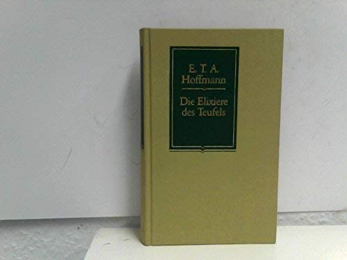 9783150500040: Die Elixiere des Teufels. (Reclam Lese-Klassiker)