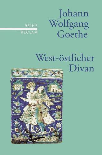 9783150500330: West-östlicher Divan.