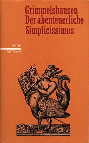 9783150507612: Der abenteuerliche Simplicissimus Teutsch.