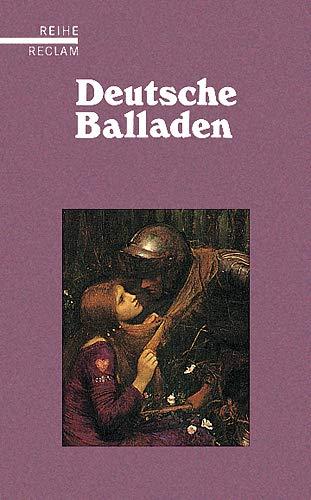9783150585016: Deutsche Balladen