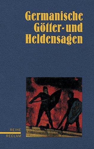 9783150587508: Germanische Götter- und Heldensagen