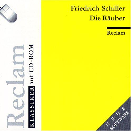 Reclam Klassiker Auf CD-Rom: Die Rauber: Schiller