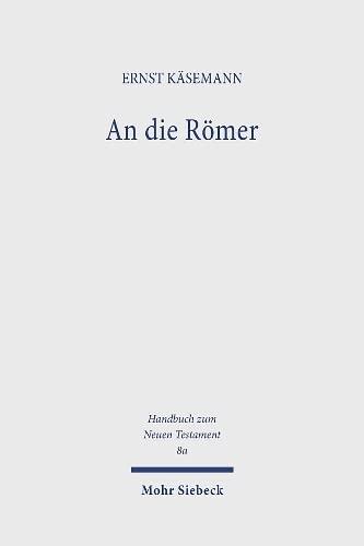 9783161426728: An Die Romer