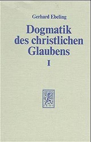 9783161452932: Prolegomena - Der Glaube an Gott den Schöpfer der Welt, Tl.1