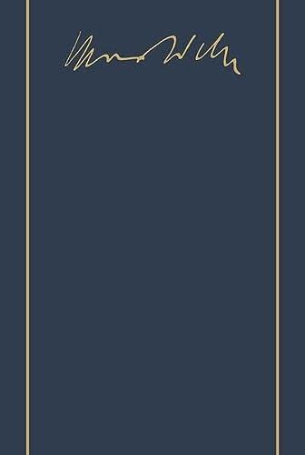 9783161457654: Max Weber-Gesamtausgabe: Band I/17: Wissenschaft ALS Beruf 1917/1919 / Politik ALS Beruf 1919 (German Edition)