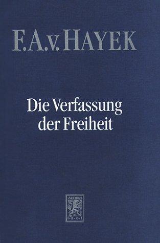 9783161458446: Die Verfassung der Freiheit