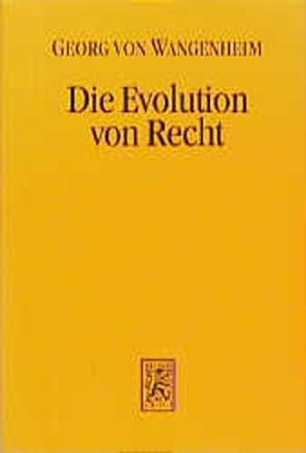 9783161463846: Die Evolution Von Recht: Ursachen Und Wirkungen Haufigkeitsabhangigen Verhaltens in Der Rechtsfortbildung (Die Einheit Der Gesellschaftswissenschaften) (German Edition)