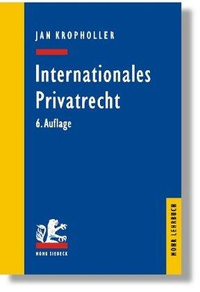 9783161475719: Internationales Privatrecht.