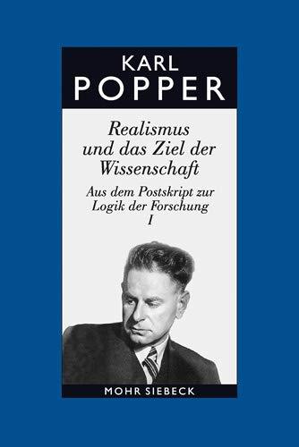 9783161477720: Gesammelte Werke: Band 7: Realismus und das Ziel der Wissenschaft (Karl R. Popper-Gesammelte Werke)