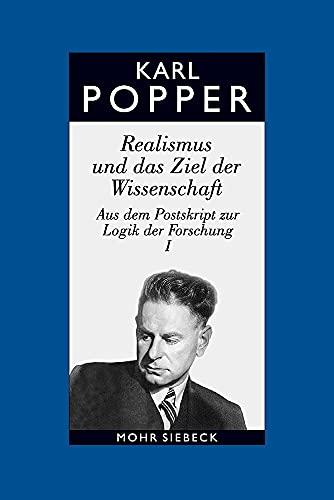 9783161477867: Gesammelte Werke: Band 7: Realismus Und Das Ziel Der Wissenschaft (German Edition)