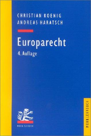 9783161480584: Europarecht.