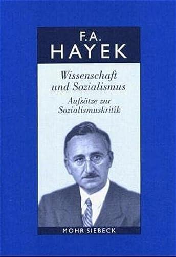 9783161480621: Wissenschaft und Sozialismus: Aufsätze zur Sozialismuskritik