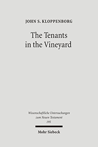 9783161489082: Tenants in the Vineyard: Ideology, Economics, & Agrarian Conflict in Jewish Palestine