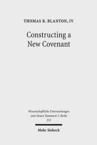 Constructing a New Covenant: Thomas R. Blanton