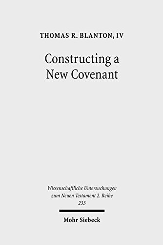 Constructing a New Covenant Discursive Strategies in the Damascus Document and Second Corinthians