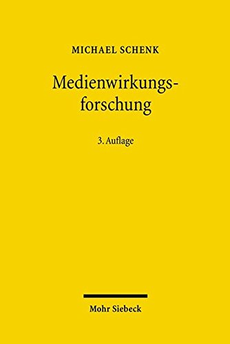9783161492402: Medienwirkungsforschung (German Edition)