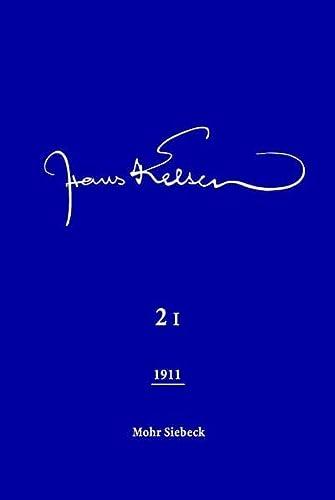 9783161494369: Hans Kelsen Werke 2Bd: Ver�ffentlichte Schriften 1911 (2 Teilb�nde)
