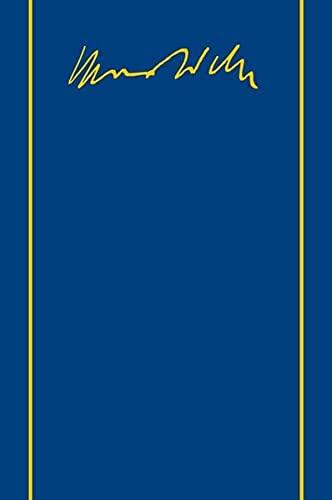 Zur Geschichte der Handelsgesellschaften im Mittelalter. Schriften 1889-1934. Hg. v. Gerhard Dilcher u. Susanne Lepsius (Max Weber Gesamtausgabe. Im Auftrag d. Kommission f. Sozial- u. Wirtschaftsgeschichte d. Bayer. Akademie d. Wissenschaften hg. v. Horst Baier, Gangolf Hübinger, M. Rainer Lepsius u.a. (MWG). Abt. I: Schriften u. Reden; Bd. 1). - Weber, Max