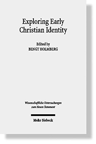 Exploring Early Christian Identity: Bengt Holmberg