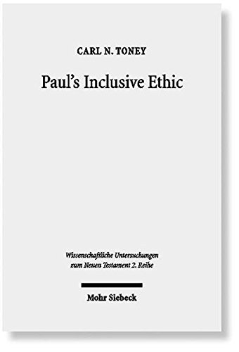 Paul's Inclusive Ethic Resolving Community Conflicts and Promoting Mission in Romans 14-15