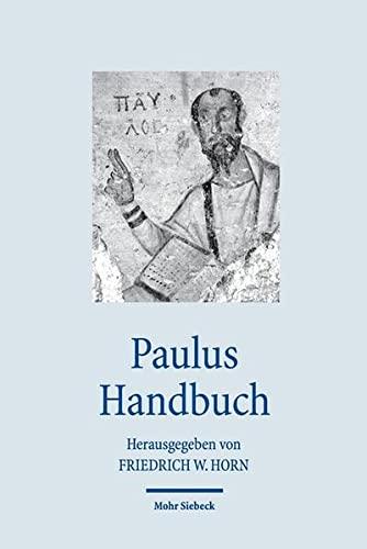 9783161500831: Paulus Handbuch