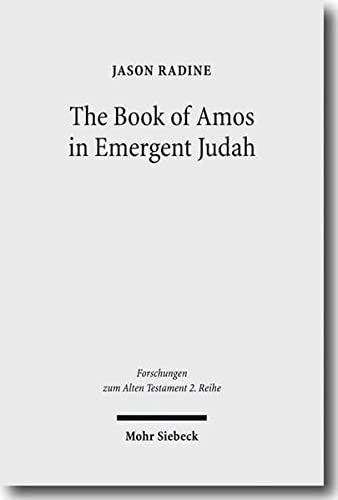 Book of Amos in Emergent Judah FAT II 45