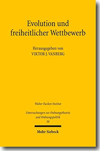9783161502576: Evolution und freiheitlicher Wettbewerb: Erich Hoppmann und die aktuelle Diskussion (Untersuchungen Zur Ordnungstheorie Und Ordnungspolitik)