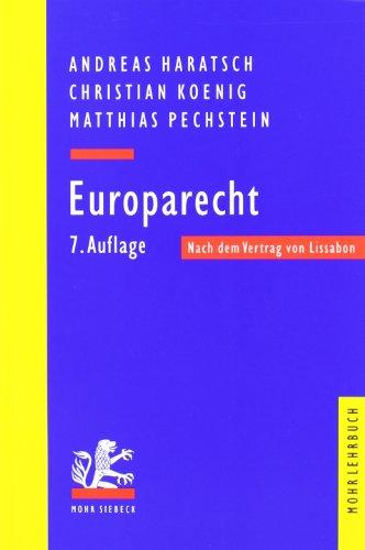 9783161503221: Europarecht