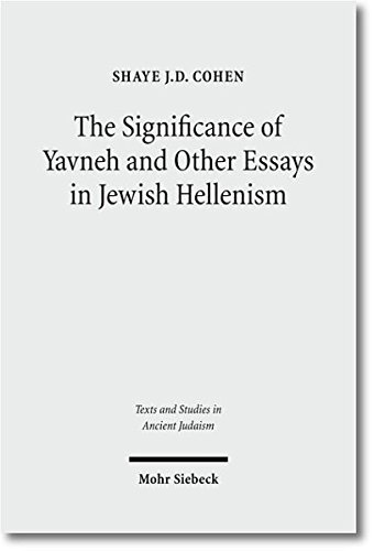 Significance of Yavneh and Other Ess