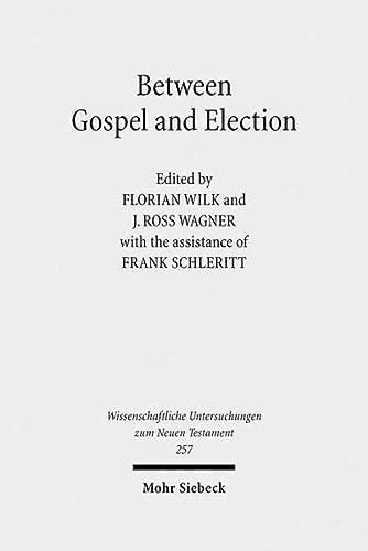 Between Gospel and Election. Explorations in the Interpretation of Romans 9-11 (Series: Wissenschaftliche Untersuchungen zum Neuen Testament. Volume 257) - Wagner, J. RossWilk, Florian
