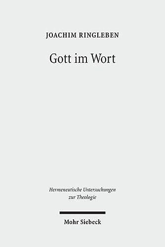 Gott Im Wort: Luthers Theologie Von Der Sprache Her (Hardback): Joachim Ringleben