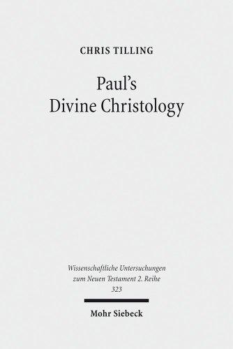 9783161518652: Paul's Divine Christology (Wissenschaftliche Untersuchungen Zum Neuen Testament, 2. Reihe)