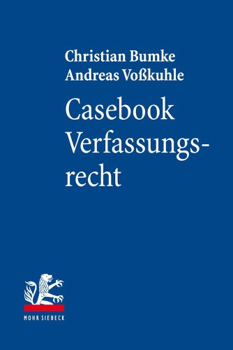 9783161524110: Casebook Verfassungsrecht (Mohr Lehrbuch)