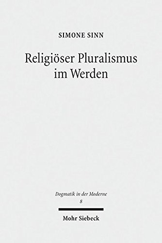 Religiöser Pluralismus im Werden: Simone Sinn