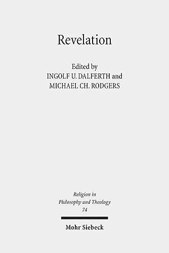9783161531989: Revelation: Claremont Studies in Philosophy of Religion, Conference 2012