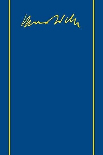 9783161532696: Max Weber-gesamtausgabe: Band I/18: Die Protestantische Ethik Und Der Geist Des Kapitalismus. Die Protestantischen Sekten Und Der Geist Des Kapitalismus. Schriften 1904-1920