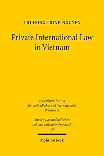 Private International Law in Vietnam: On General Issues, Contracts and Torts in Light of European ...