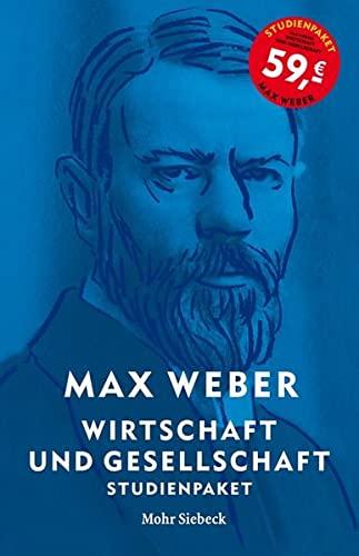 9783161544880: Max Weber-studienausgabe: Wirtschaft Und Gesellschaft. Studienpaket Bande I/22,1-5 + I/23; 6 Bande