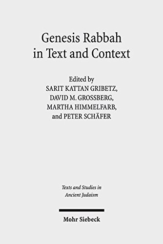 9783161547027: Genesis Rabbah in Text and Context (Texts and Studies in Ancient Judaism)