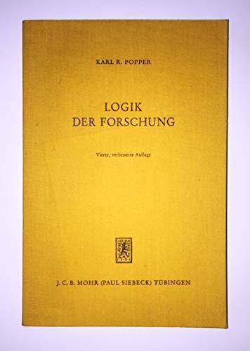 Logik Der Forschung | Download eBook PDF/EPUB