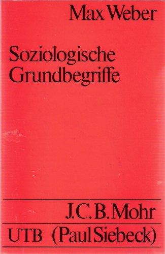 9783165448306: Soziologische Grundbegriffe.