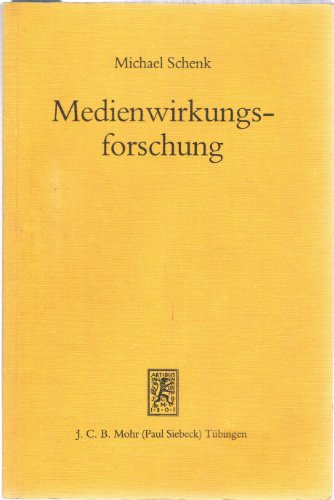 9783165451726: Medienwirkungsforschung.